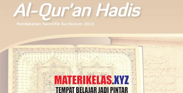 Materi Kelas 12 Al-Quran Hadis Kurikulum 2013