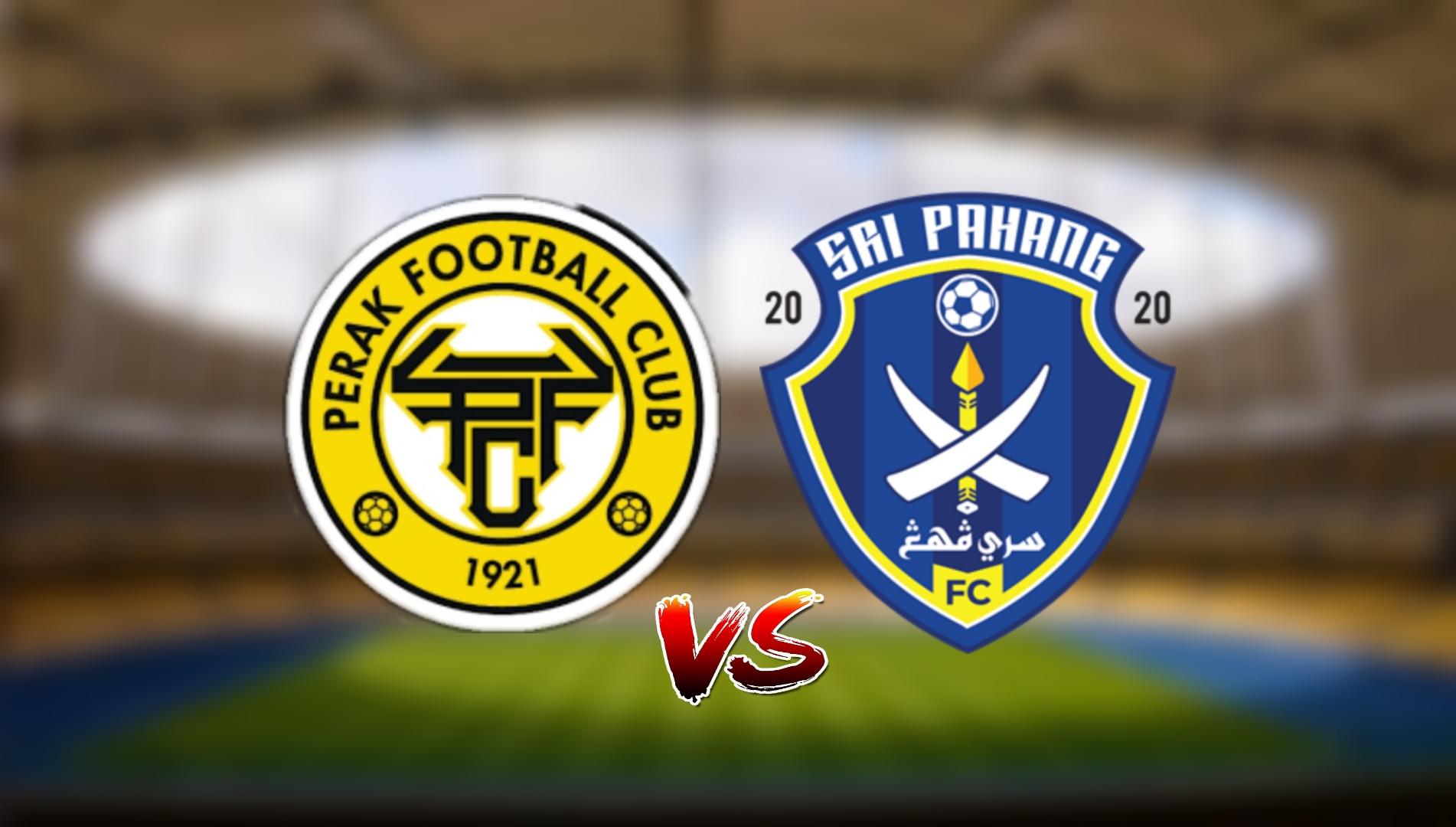 Live Streaming Perak FC vs Sri Pahang FC Liga Super 9.5.2021