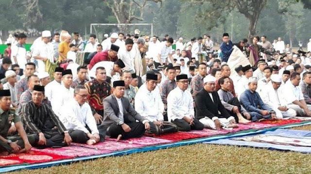 Jokowi Ajak Masyarakat Tingkatkan Kesalehan Sosial
