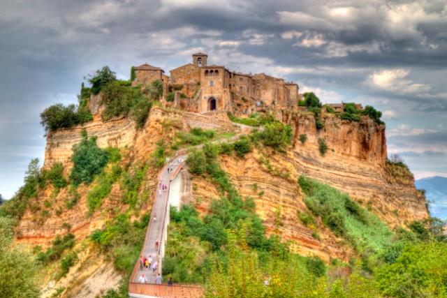 Civita di Bagnoregio medieval town in italy