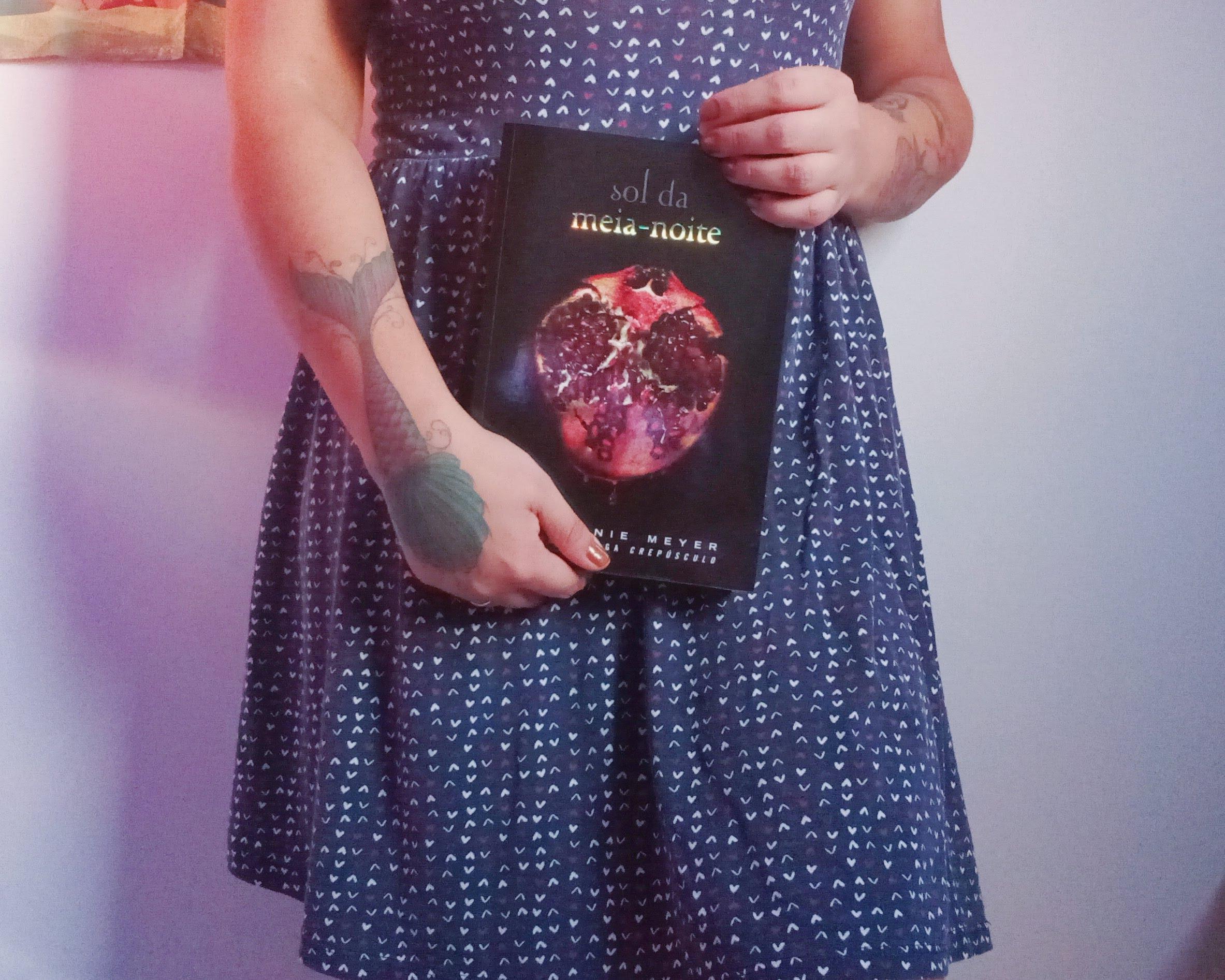 Livro Sol da Meia-Noite, saga Crepúsculo 2020