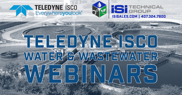 Teledyne ISCO Water & Wastewater Webinars