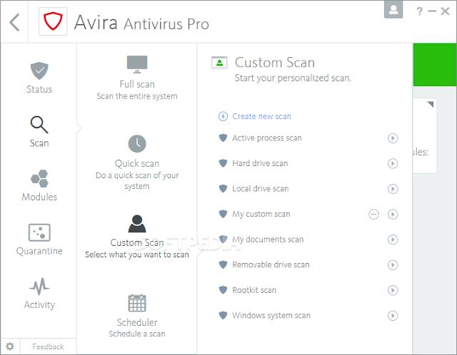 تحميل افيرا انتي فيروس Avira Free Antivirus - موقع حملها