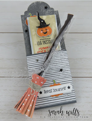 This weeks super cute 3D Thursday project features the Cutest Halloween Bundle from Stampin' Up!.  Click here to download this weeks FREE PDF Tutorial