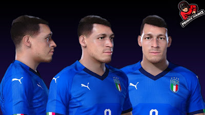 PES 2021 Faces Andrea Belotti by Prince Hamiz