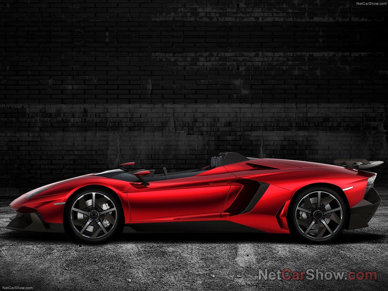 Lamborghini Aventador J Concept 2012 Cars Modifications