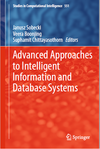 eBook : Advanced Approaches to Intelligent Information and Database Systems