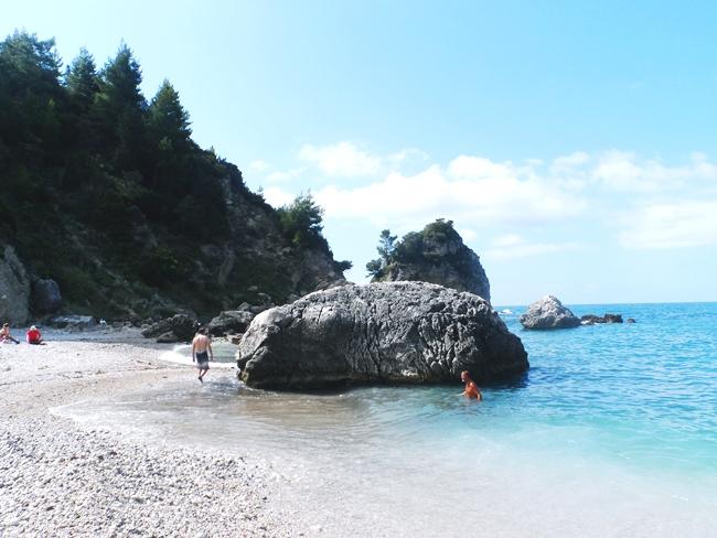 Parga beaches: Krioneri & Piso Krioneri.Parga city beaches.Parga gradske plaze, Krioneri i Piso Krioneri.