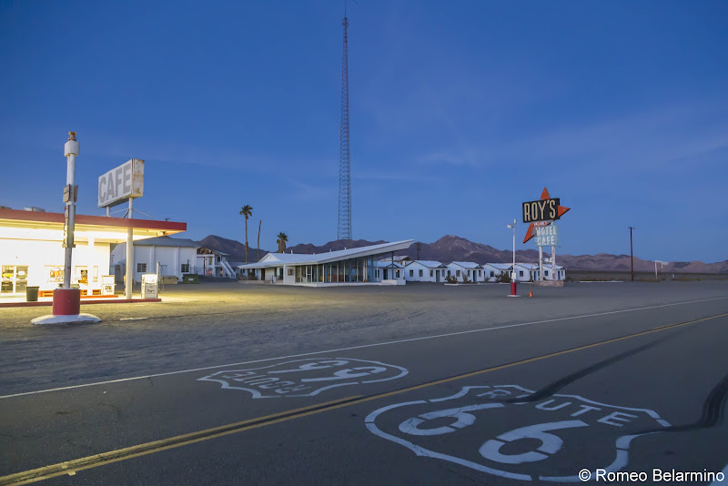 Roy's Cafe and Motel Amboy California Route 66 Road Trip Attractions