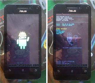 Cara Hard Reset Asus Zenfone 4 T001