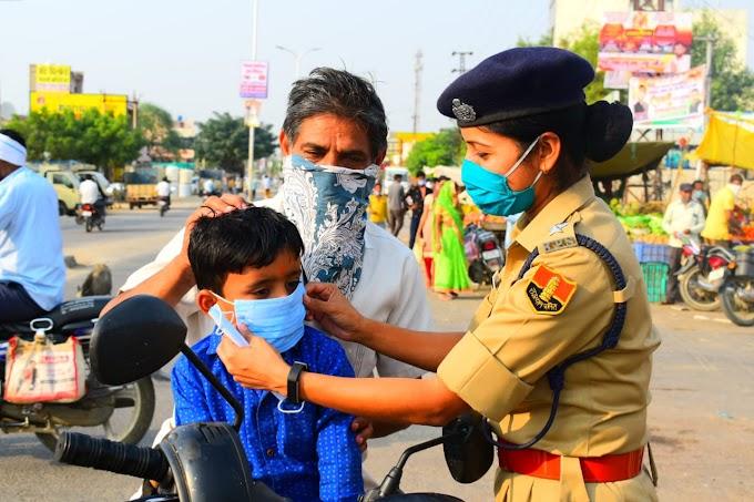 पुलिस का उद्देश्य केवल चालान काटना नहीं, लोग खुद जागरूक होकर मास्क का महत्व समझें- आरपीएस लक्ष्मी सुथार