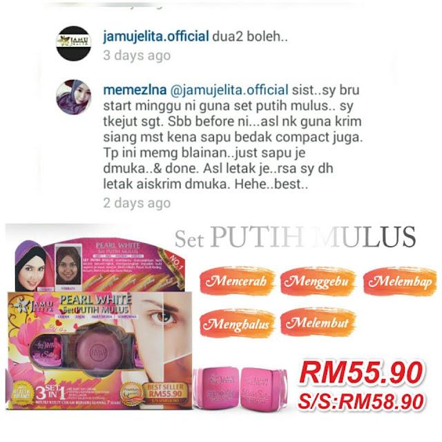Testimoni Putih Jelita BB Silky Cream Jamu Jelita