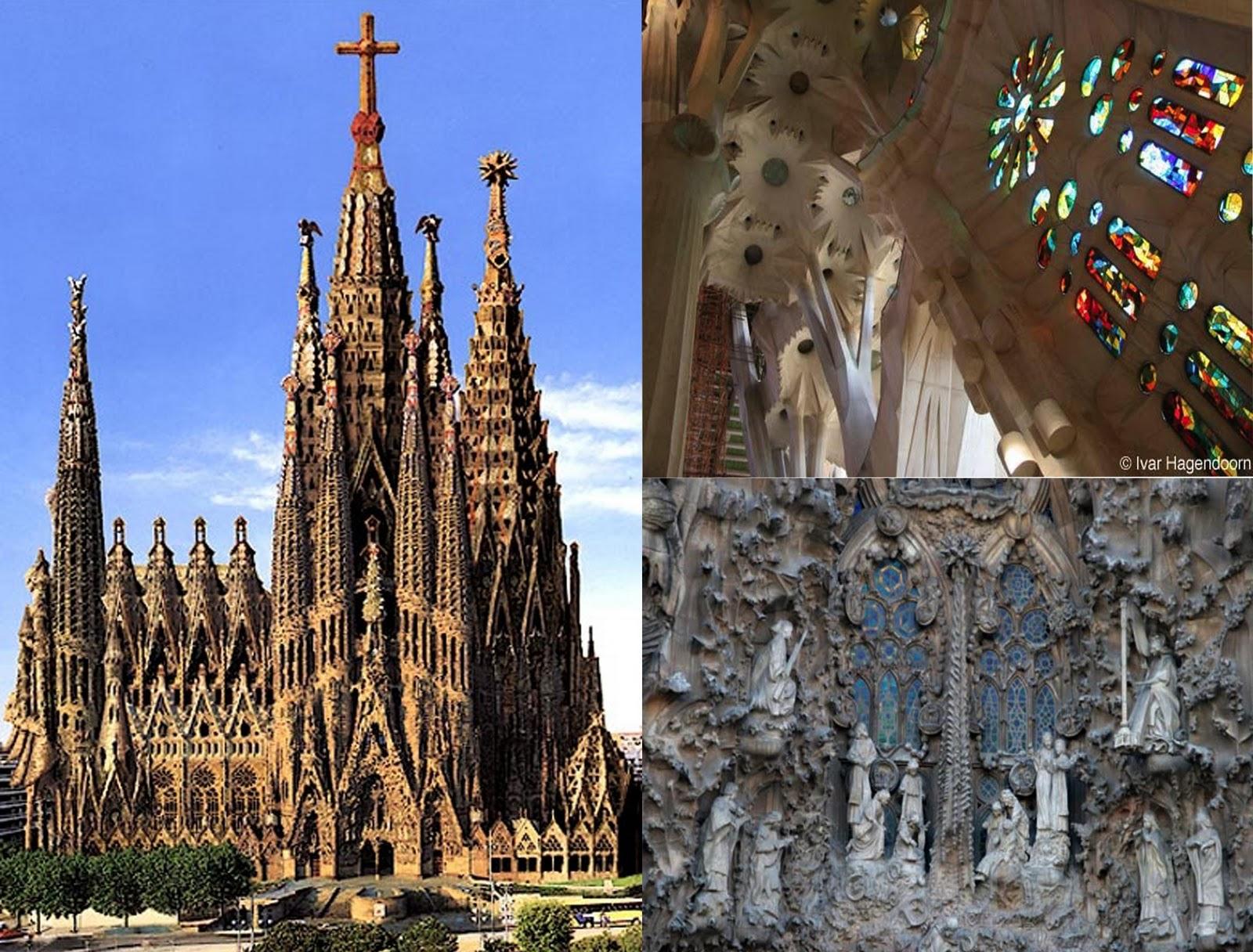 along the abstract way: Chapter 48-Barcelona, La Sagrada ...