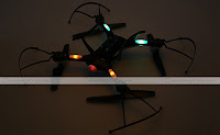 JJRC H31 quadcopter Back view