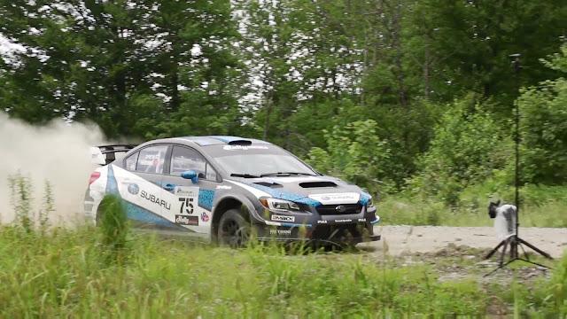 Remote Camera Triggering at Rally Car Race