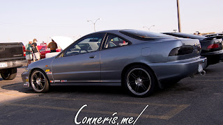 Acura Integra side angle