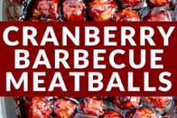 #Recipe >> SPICY CRANBERRY BARBECUE MEATBALLS