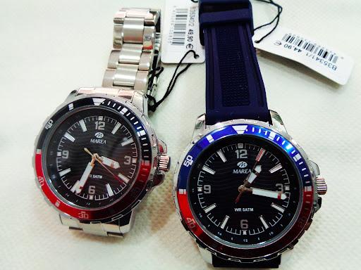 Relojes Marea tipo Acuáticos, con pulsera de acero o correa de silicona