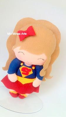 Super hero girls topo de bolo
