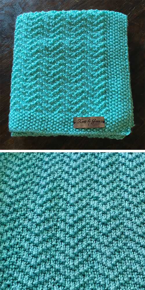 Oden Baby Blanket - Free Pattern