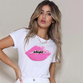 bonitas camisetas de moda para mujer