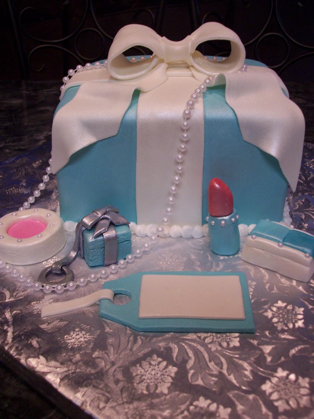 Tiffany And Co Box Cake