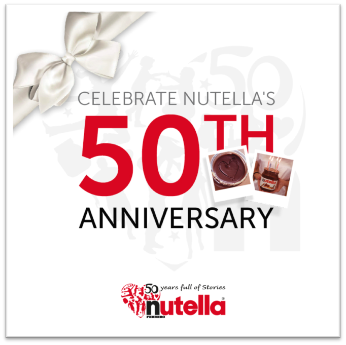 50 Years of Stories: Nutella