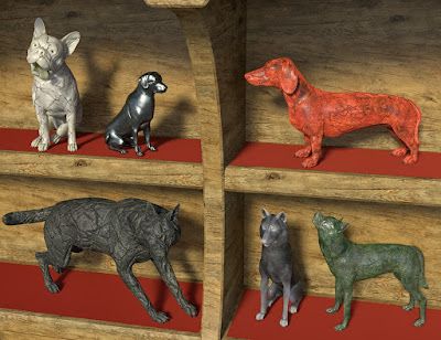 Oso Rock Dogs for Daz Dog 8