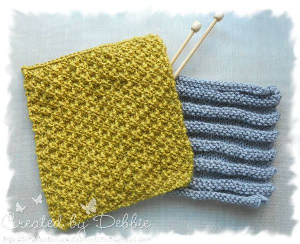 Stitch Knitted Squares Together : Fairy Bluebells Craft Adventure: Friday Night With Friends - Knitting an...