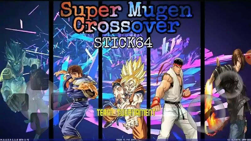 Super Anime Crossover Mugen Apk New Android Fighting Game