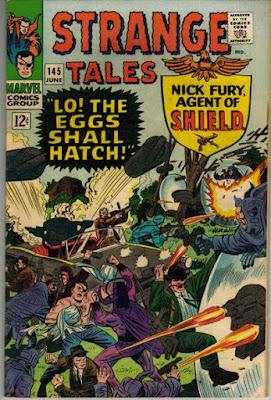 Strange Tales #145, Nick Fury, Agent of SHIELD
