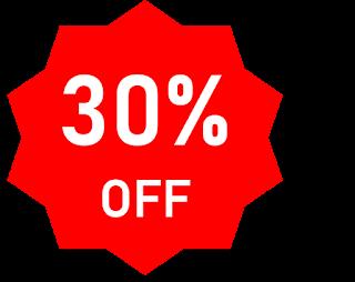 30% off!