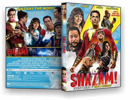 DVD Shazam 2019 - AUTORADO