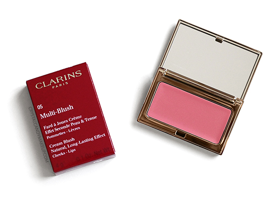 Clarins Instant Glow Multi-Blush Cream Blush 05 Rose Review Photos