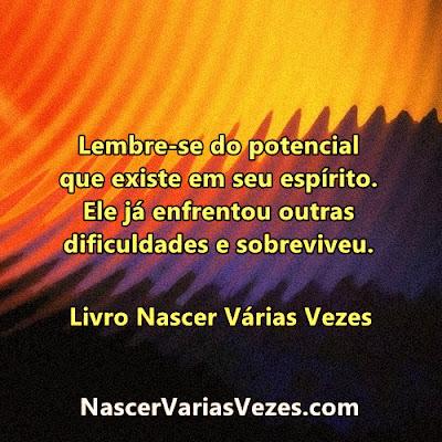 Seu espírito possui conhecimentos desenvolvidos em vidas passadas. Sabedoria espiritual.