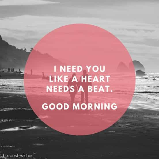 i miss you good morning love messages