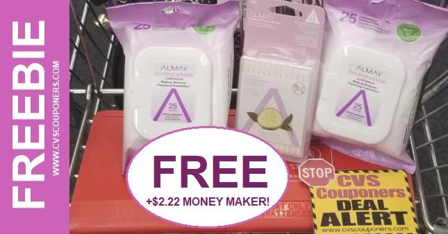 FREE Almay Makeup Remover CVS Deal 1-12-1-18