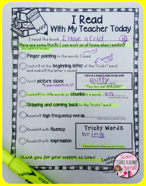 Tricia's Terrific Teaching Trinkets: Work Smart   Not Harder!