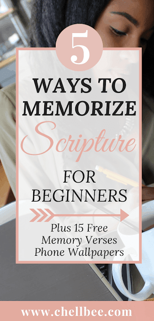 Memorize Scripture | Learn these 5 simple tips to memorizing scripture. These tips are perfect bible study beginners who want to strengthen there spiritual relationship.  Memory verse | Bible Memorization | how to memorize scripture | bible study ideas | Bible study tips | bible journaling tips #bibleverse #biblestudy #scripturestudy #memorizescripture