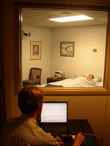 Uyku çalışması odası