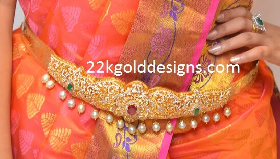 Latest Diamond Vaddanams Designs 2016