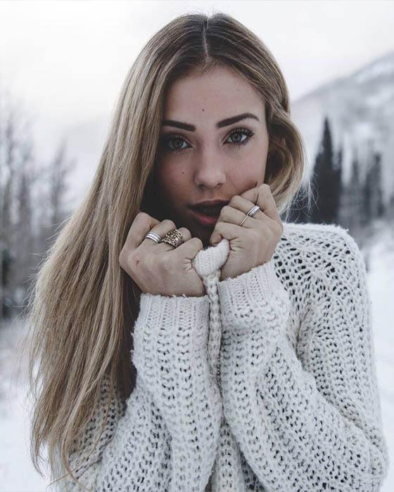 Fotos tumblr de invierno sola