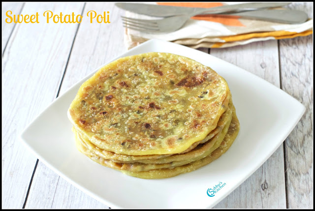 Sweet Potato Poli Recipe | Sakkarai Velli Kizhangu Poli Recipe