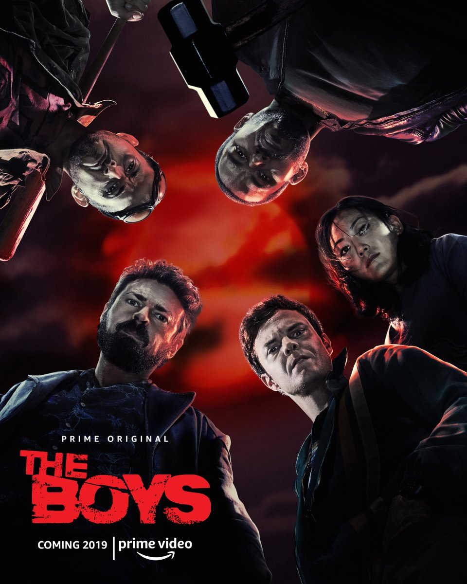 the boys serial amazon komiks karl urban jack quaid homelander butcher