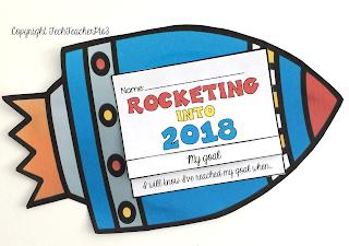 rocket, goal, setting, new, year, early, primary, techteacherpto3