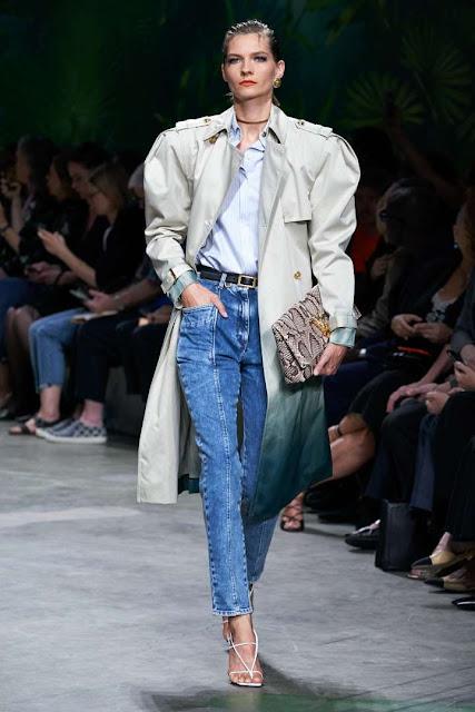 De qué material son los jeans rectos
