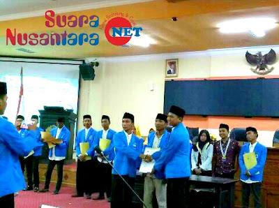 Plantikan PMII Komisariat Universitas Trunojoyo Madura Dilantik Langsung Oleh Rektor