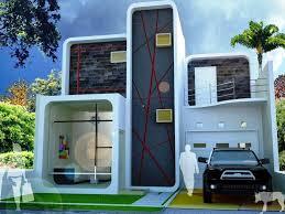 Desain Terbaru Rumah Minimalis 2 lantai Type 36 Paling Nyaman Untuk Hunian 4