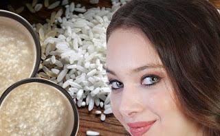 सौंदर्य- निखार- के- लिए- चावल- मांड़, Rice- Water- for- Skin- in- Hindi, chawal - mand- ke- fayde, चावल -मांड - फायदे, उबले चावल मांड,  uble chawal mand