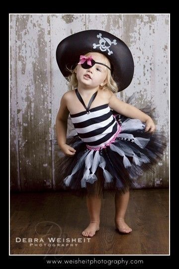 dispersión enlace densidad disfraz tutu pirata niña - 54otom